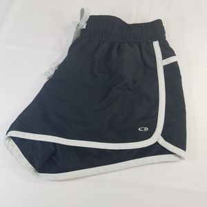 Champion Shorts - Champion Athletic Shorts Black Drawstring Waist